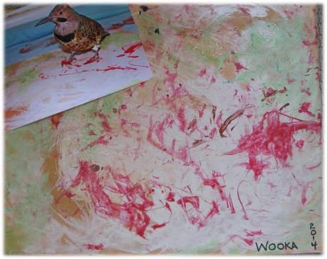 Wooka Painting 2014