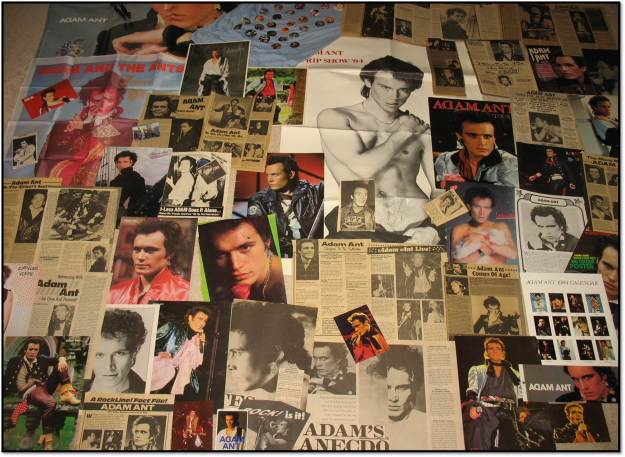 Wall of Adam Ant