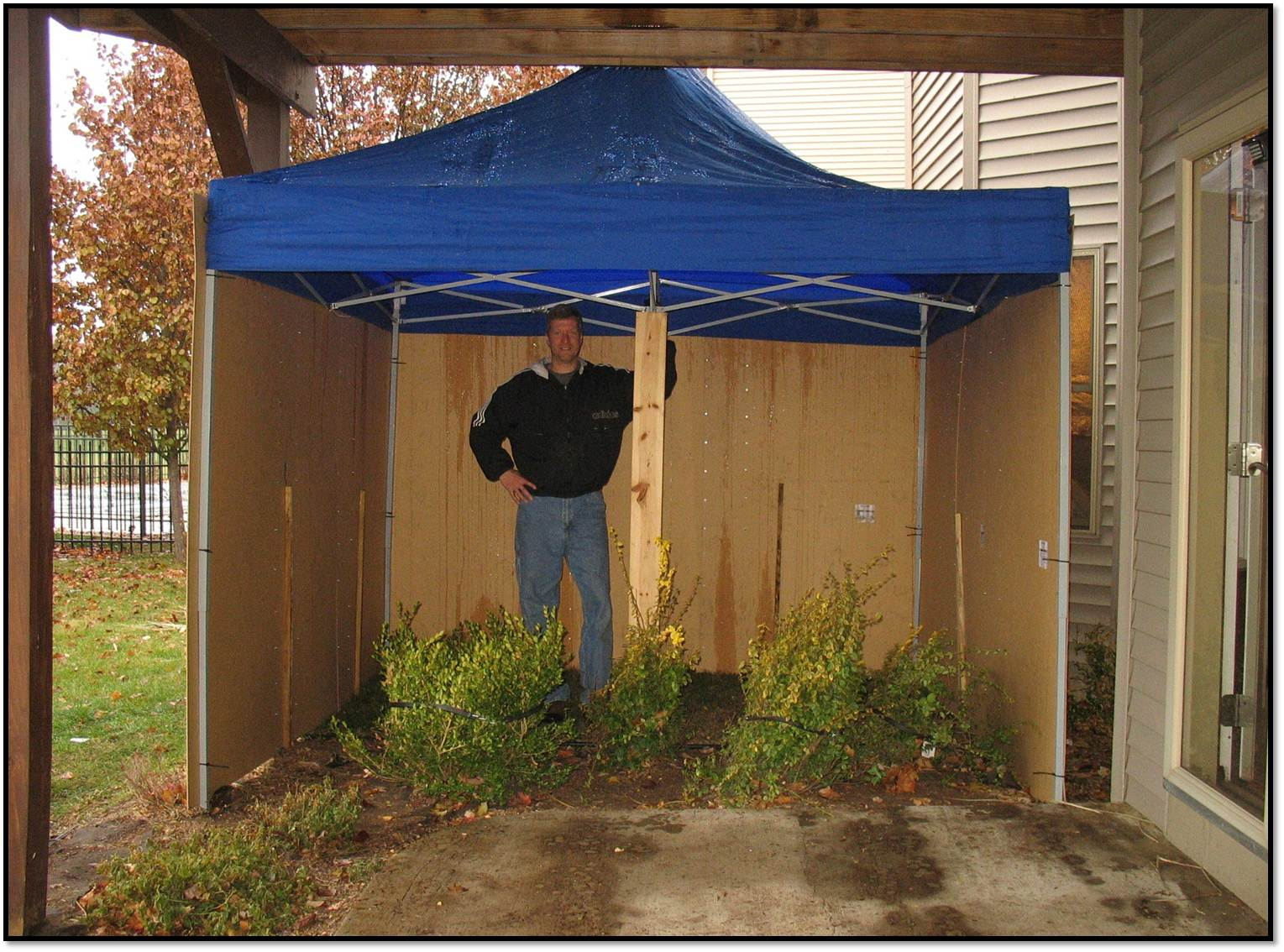The Tent Tacular Outdoor Potty Tent The Fickle Feather