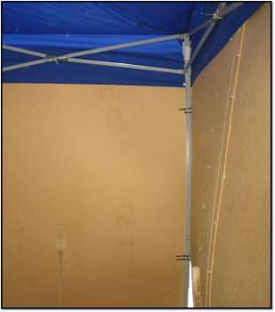 tent pole corner