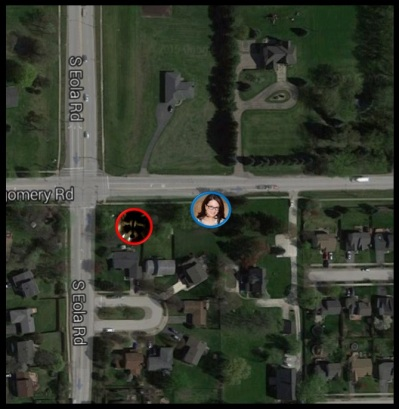Intersection Where Arden Finds Raccoon June 2015