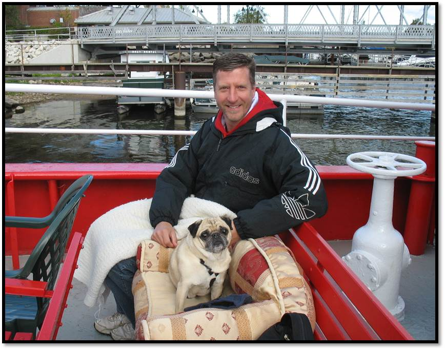 Joel Peanut Zich Fire Boat Cruise